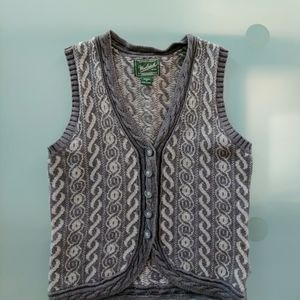 Woolrich Gray Button Up Cardigan Women Medium